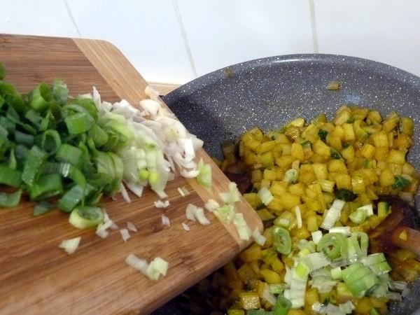 cotes de blettes persillées au curry
