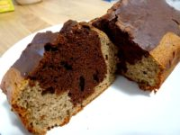 cake marbré coco cacao
