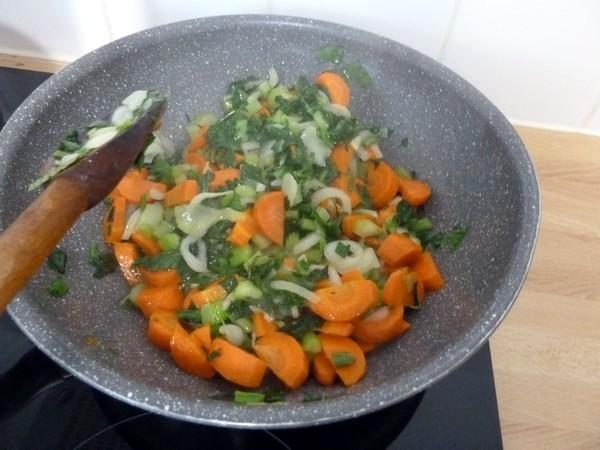 poivrons farcis légumes riz soja