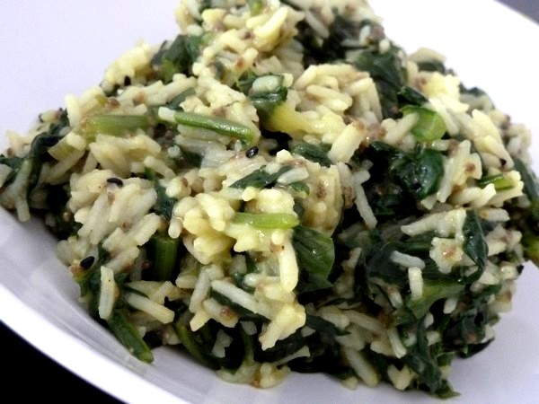 riz aux blettes