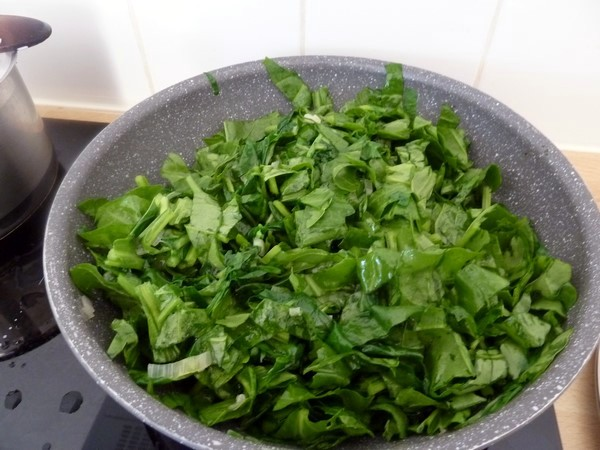 Riz aux blettes les blettes sauvages sont des l gumes - Comment cuisiner les feuilles de blettes ...