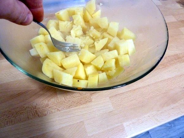 hachis vegan aux 2 patates