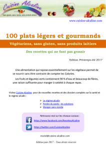 100 plats légers et gourmands livre