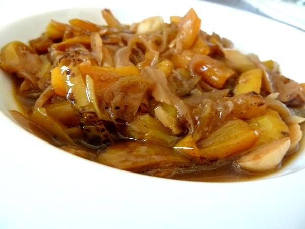 Poivrons Jaunes Aux Oignons Recette De Cuisine Alcaline